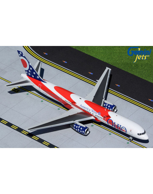 America West Boeing 757-200 N905AW Ohio 1/200 scale diecast Gemini jets