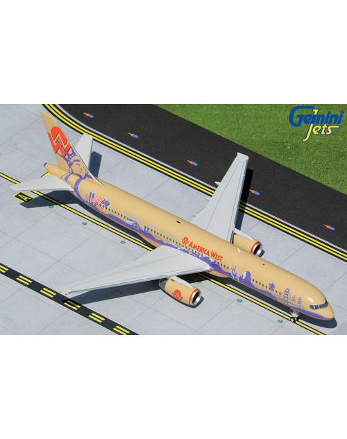 America West Boeing 757-200 N902AW Teamwork Coast to Coast 1/200 scale diecast GeminiJets