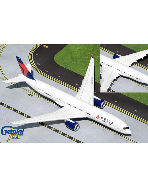 Delta Airbus A350-900 N502DN The Delta Spirit, Flaps down configuration 1/200scale diecast GeminiJets