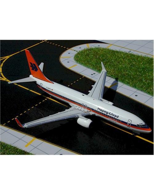 Hapag Lloyd Boeing 737-8K5 Winglets D-AHFS 1/400 scale diecast GeminiJets