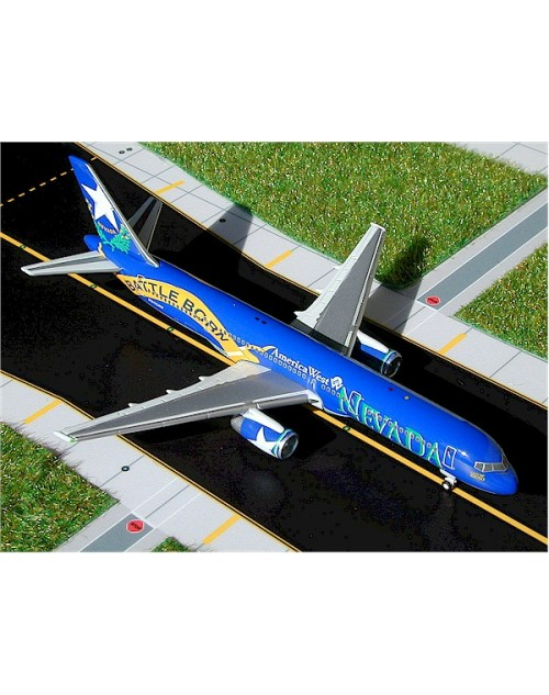 America West Boeing 757-225 N915AW Nevada Battle Born 1/400 scale diecast GeminiJets