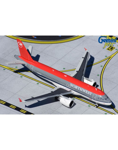 Northwest Airbus A320-212 N365NW Bowling Shoe 1/400 scale diecast Gemnijets