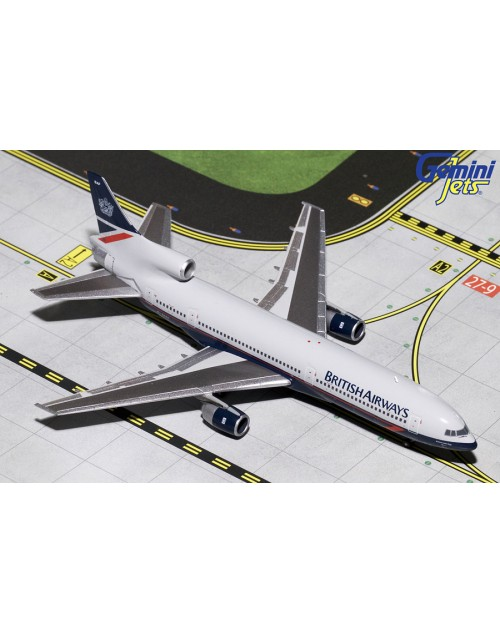 British Airways Lockheed L-1011-1 G-BBAF Landor 1/400 scale diecast GeminiJets