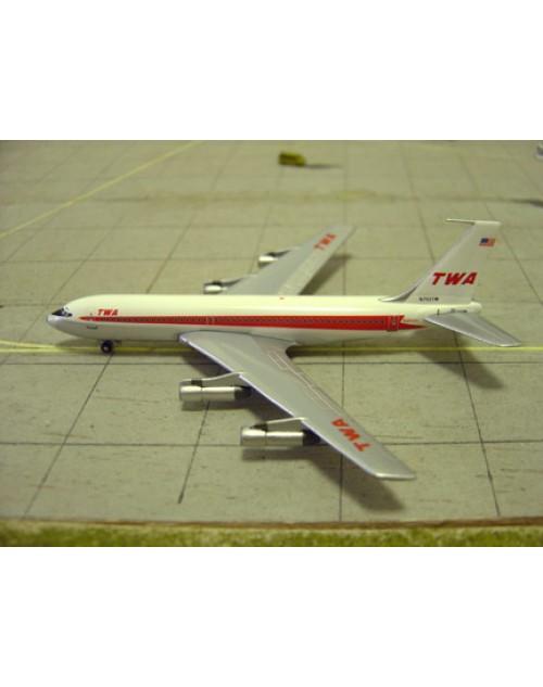 TWA Boeing 720-051B N793TW 1/400 scale diecast GeminiJets