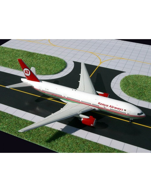 Kenya Airways 777-2U8ER 5Y-KQU 1/400 scale diecast GeminiJets