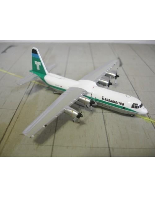Transamerica lockheed L-100-30 N12ST 1/400 scale diecast GeminiJets