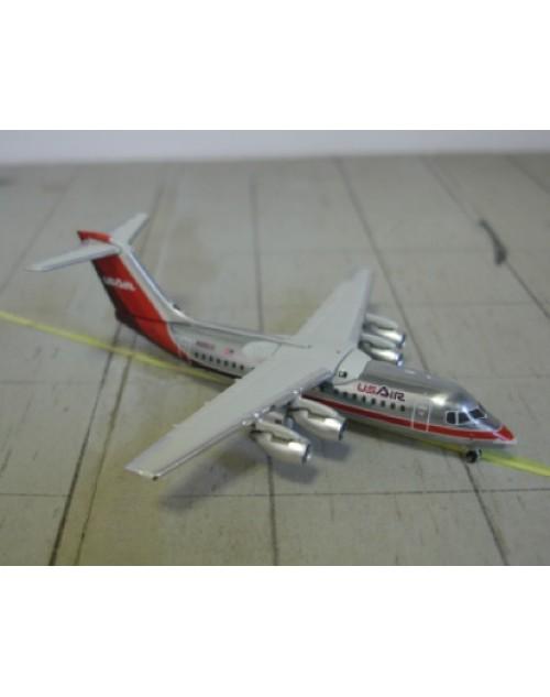 US Air BAe 146/Avro RJ-85 N766US Maroon 1/400 scale diecast GeminiJets
