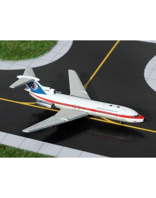 BKS Air Transport HS Trident 1E G-AVYD 1/400 scale diecast GeminiJets