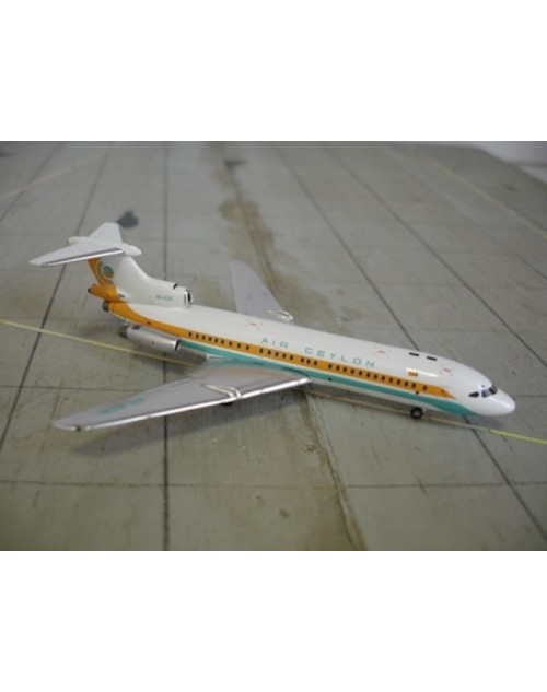 Air Ceylon HS Trident 1E 4R-ACN 1/400 scale diecast GeminiJets