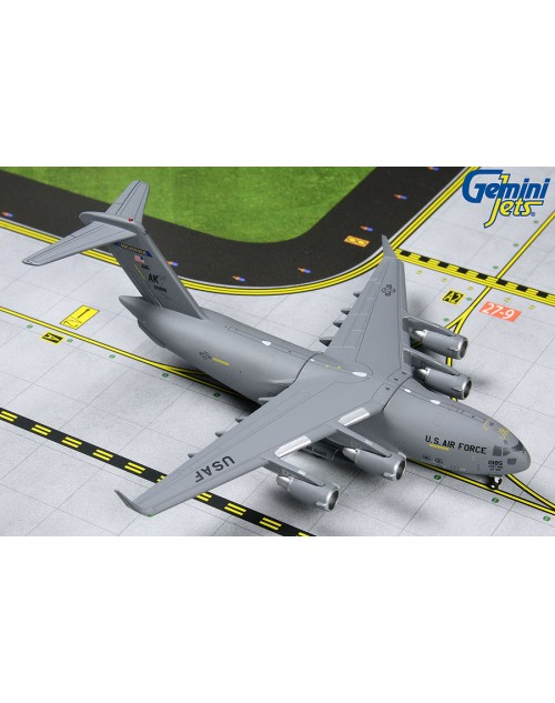US Air Force C-17 Globemaster III 00-0185 Alaska ANG 1/400 scale GeminiMacs