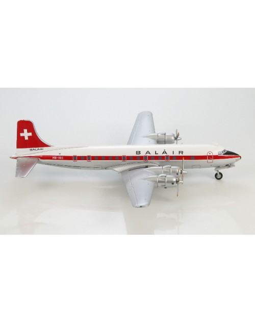 Balair Douglas DC-6A HB-IBS 1/200 scale diecast Hobby Master Models