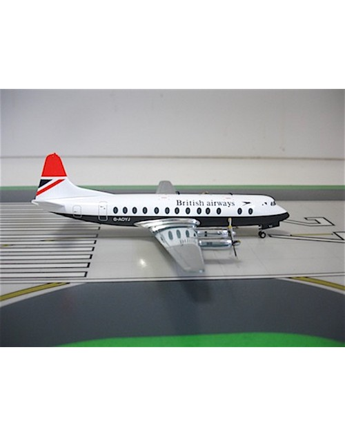 British Airways Viscount 808 G-AOYJ 1/200 scale diecast Herpa Wings