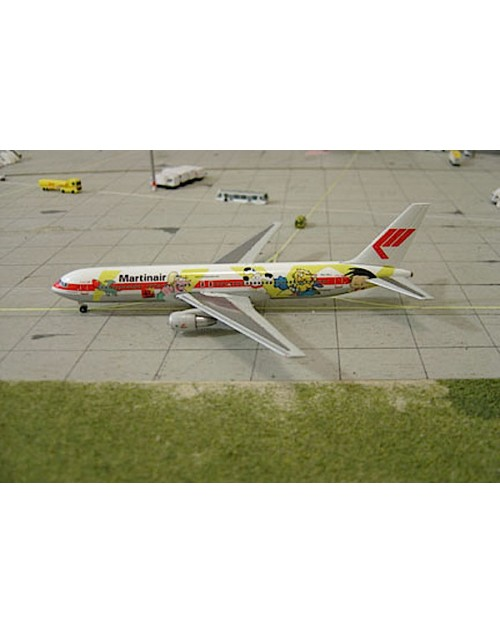 Martinair Boeing 767-31AER PH-MCL Fox Kids 1/400 scale diecast Herpa Wings