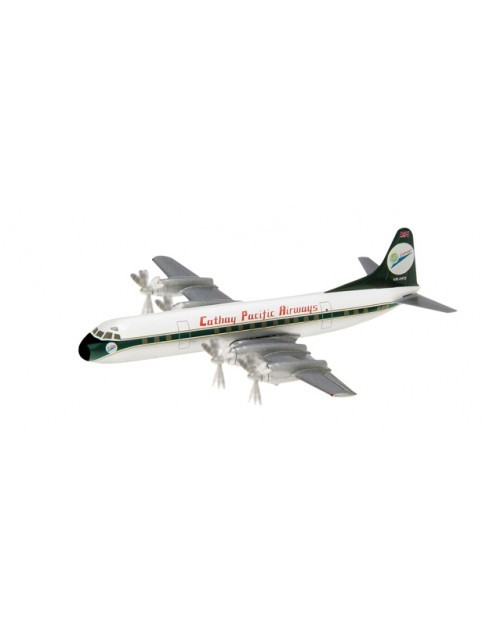 Cathay Pacific Lockheed L-188A Electra VR-HFO 60th Anniversary 1/400 scale diecast Herpa Wings