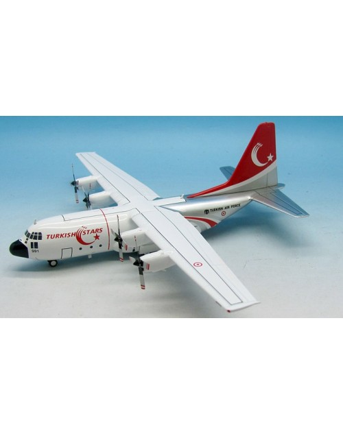 Turkish Air Force Turkish Stars Lockheed C-130 Hercules 73-0991 1/200 diecast Inflight Models