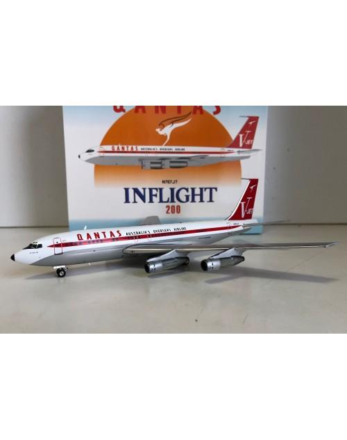 Qantas (John Travolta) Boeing 707-138B N707JT 1/200 scale diecast Inflight Models