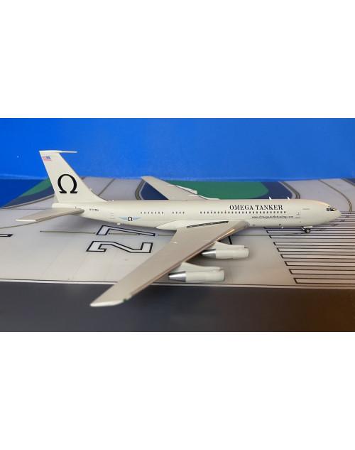 Omega Tanker Boeing 707-368C N707MQ 1/200 scale diecast Inflight 200