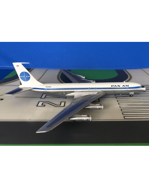 Pan Am Boeing 707-321B N434PA 1970s, 1/200 scale diecast Inflight Models