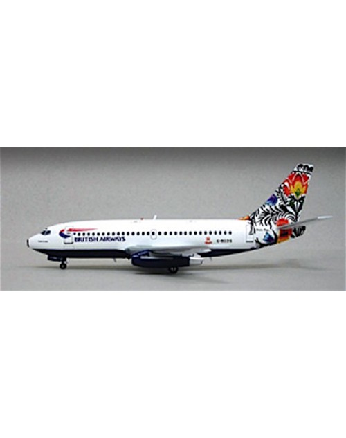 British Airways Boeing 737-236 G-BGDG Poland Tail 1/200 scale diecast Inflight Models