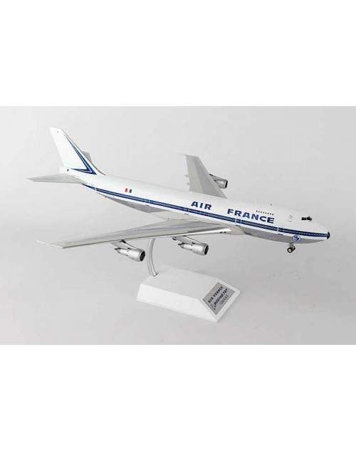 Air France Boeing 747-128 F-BPVL 1970s colors Polished finish 1/200 scale diecast inflight Models