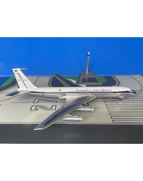 Avianca Colombia Boeing 707-320B HK-1410 1960s 1/200 scale diecast Inflight 200
