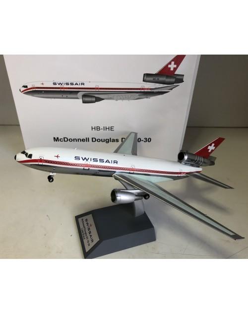 Swissair Douglas DC-10-30 HB-IHE 1970s 1/200 scale diecast Inflight/B Models