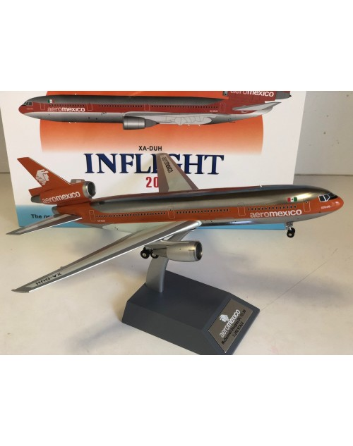 Aeromexico Douglas DC-10-30 XA-DUH 1/200 scale diecast Inflight Models