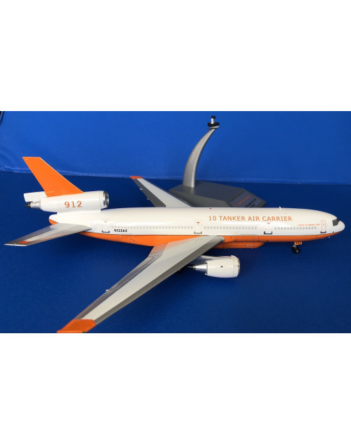 10 Tanker Air Carrier Douglas DC-10-30 N522AX 1970s 1/200 scale diecast Inflight