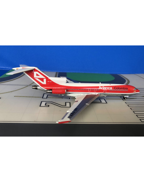 Avianca Colombia Boeing 727-100 HK-727 1970s 1/200 scale diecast Inflight/Aero Models