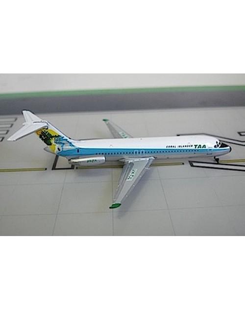 TAA - Trans Australian Douglas DC-9-31 VH-TJL Coral Islander 1:400 scale diecast JC Wings/Flightline 400 Models