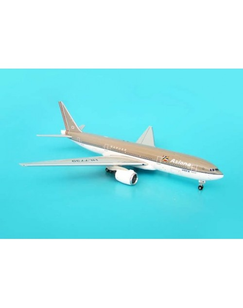 Asiana Boeing 777-28EER HL7739 1/400 scale diecast JC Wings Models