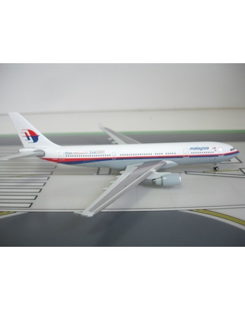 Malaysia Airbus A330-223 9M-MKV Visit Malaysia Year 2007 1/400 scale diecast JC Wings Models
