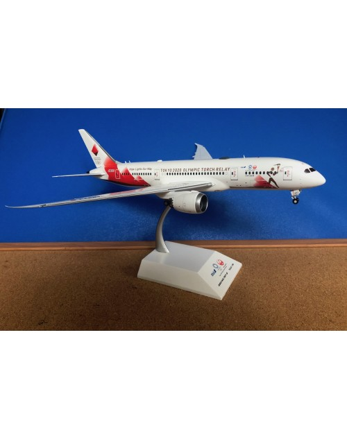 JAL - Japan Airlines Boeing 787-8 JA837J Torch Relay 1/200 scale diecast JCWings
