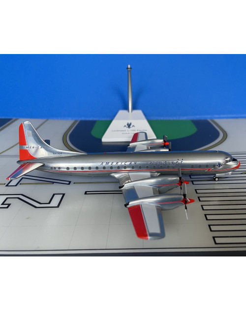 American Lockheed L-188A Electra N6110A 1/200 scale diecast JC Wings