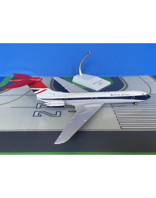 Britsh Airways Vickers VC-10-1101 G-ARVM 1970s 1/200 scale diecast JC Wings