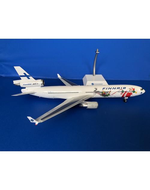 Finnair McD Douglas MD-11 OH-LGC Santa Claus 1/200 scale diecast JC Wings