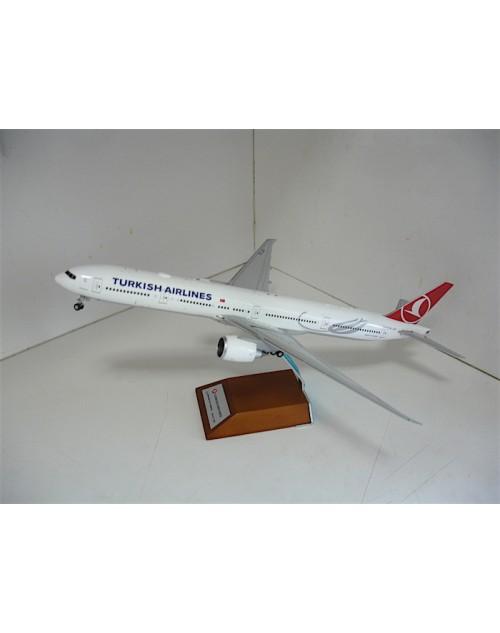 Turkish Airlines Boeing 777-3F2ER TC-JJV Heybeliada 1/200 diecast JC Wings