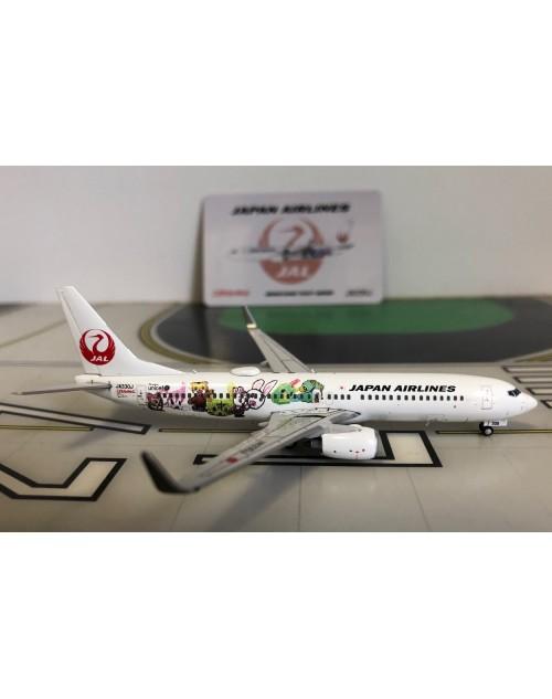 JAL Japan Airlines Boeing 737-846 Winglets JA330J Shimajiro 1/400 scale JC Wings
