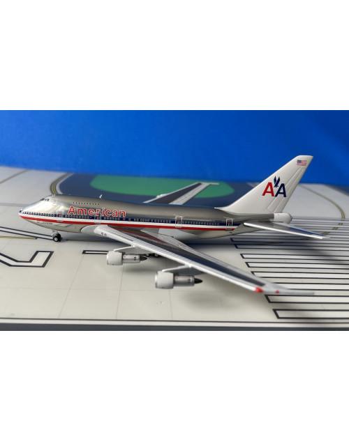 American Boeing 747SP-31 N601AA 1980s 1/400 scale diecast JC Wings