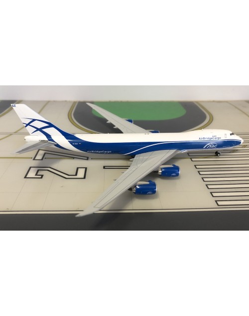 Air Bridge Cargo Boeing 747-8F VQ-BGZ 1/400 scale diecast JC Wings