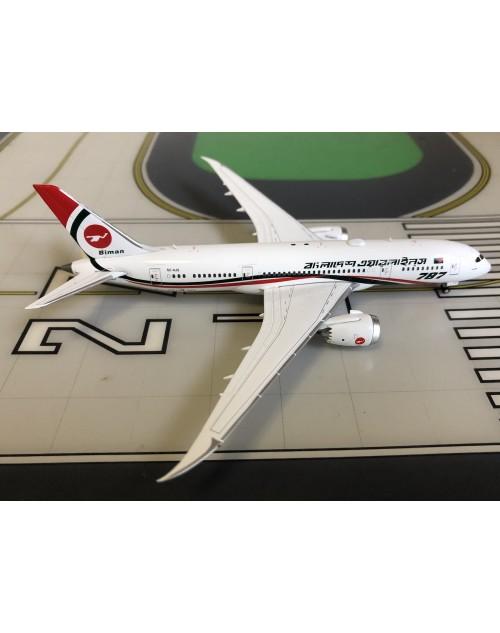 Bangladesh Biman Boeing 787-8 S2-AJS 1/400 scale diecast JC Wings Models