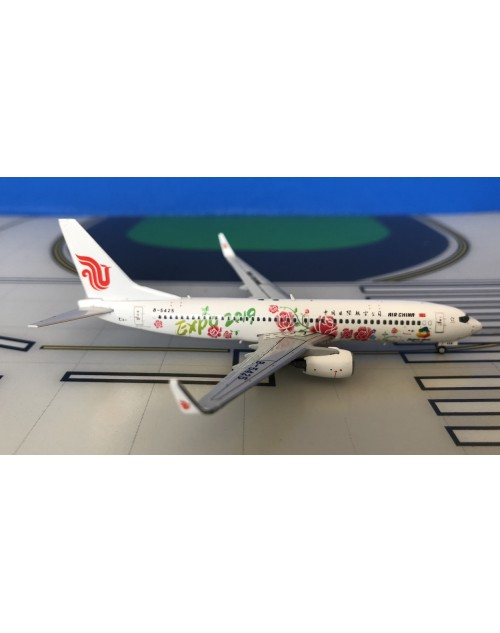 Air China Boeing 737-800W B-5425 Expo 2019 1/400 scale diecast JC Wings Models