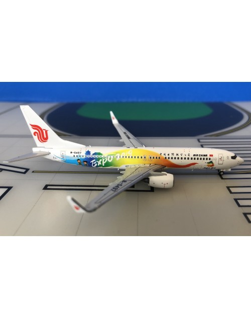 Air China Boeing 737-800W B-5497 Expo 2019 1/400 scale diecast JC Wings Models