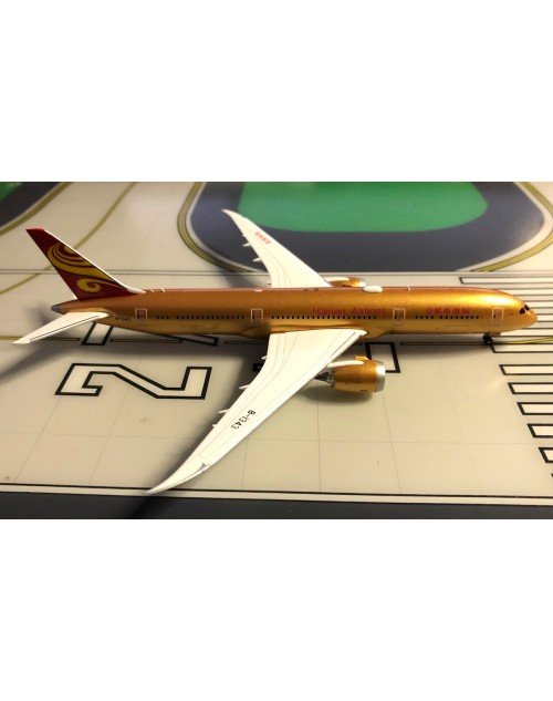 Hainan Airlines Boeing 787-9 B-1343 All Gold 1/400 scale diecast JC Wings