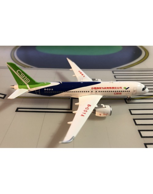 Comac C919 B-001A House Colors 1/400 scale diecast JC Wings