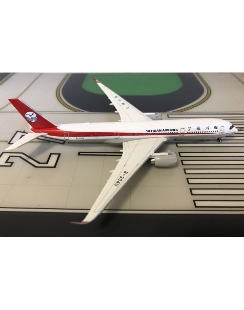 Sichuan Airlines Airbus A350-900XWB B-304U 1/400 scale diecast JC Wings