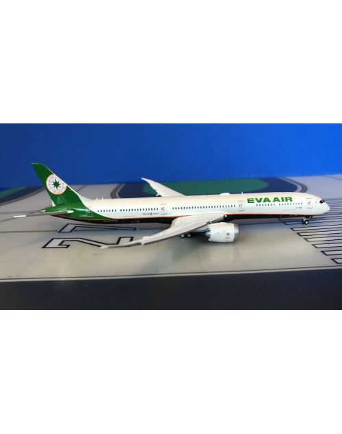 EVA Air Boeing 787-10 B-17801 flaps down 1/400 scale diecast JC Wings Models