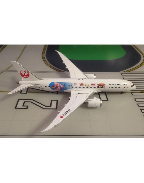 JAL-Japan Airlines Boeing 787-8 JA828J Special 1/400 scale diecast JC Wings
