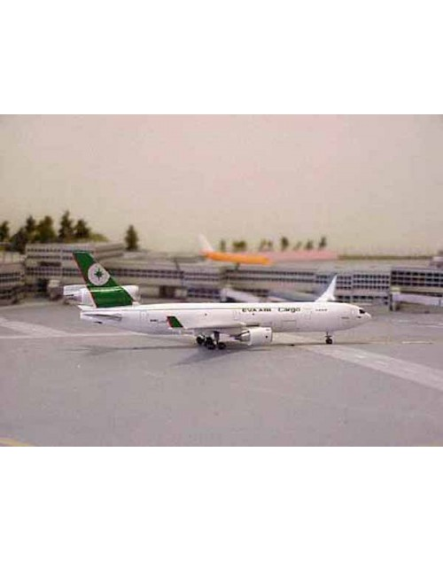 EVA Air Cargo McDonnell Douglas MD-11F N105EV 1/400 scale diecast Jet-X/Dragon Wings Models