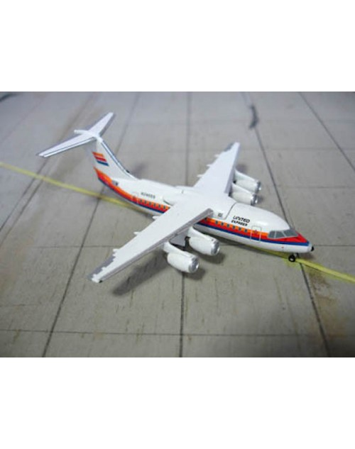 United Express British Aerospace BaE 146-100 N246SS 1/400 scale diecast Jet-X Models